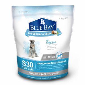 乾糧 倍力 BLUEBAY S30皮膚防敏配方天然全犬糧 (鮭魚+馬鈴薯) 寵物用品店推薦