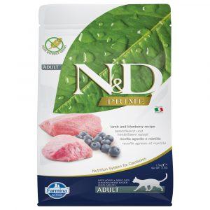 乾糧 法米納 Farmina N&D 天然無穀物成貓糧-羊肉 + 藍莓(成貓適用) 寵物用品店推薦