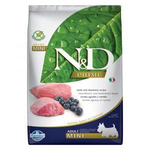 乾糧 法米納 Farmina N&D 天然無穀物成犬糧-羊肉 + 藍莓(成犬-小型犬適用) 寵物用品店推薦