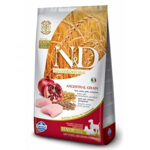 乾糧 法米納 Farmina N&D 天然低穀低敏成犬糧-雞肉 + 石榴(老犬適用)2.5KG 寵物用品店推薦