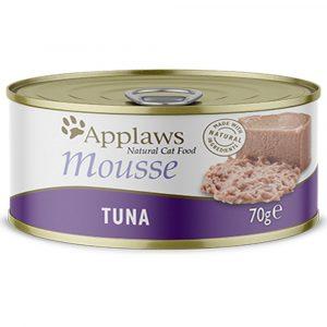 罐頭食品 愛普士 APPLAWS 全天然慕絲貓罐頭 – 吞拿魚 70g 寵物用品店推薦