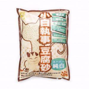貓用產品 小白執事豆腐砂 原味 7L 寵物用品店推薦