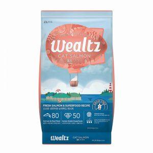 乾糧 Wealtz 維爾滋 鮮三文魚、超級食物 貓糧 (全年齡配方) 寵物用品店推薦