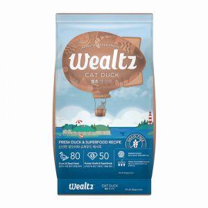 乾糧 Wealtz 維爾滋 鮮鴨肉、超級食物 貓糧 (全年齡配方) 寵物用品店推薦