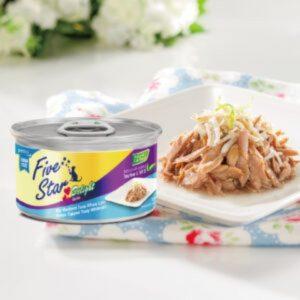 罐頭食品 Five Star 吞拿魚、銀魚罐頭 80g 寵物用品店推薦