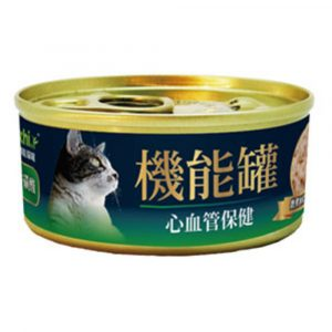 罐頭食品 A Freschi 艾富鮮 嫩煮鮮三文魚+雞肉+牛磺酸 機能貓罐頭 70g 寵物用品店推薦