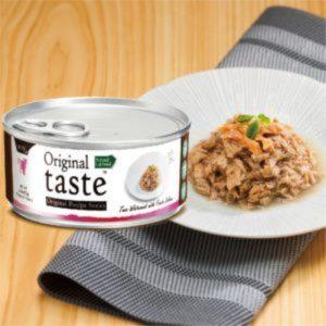 罐頭食品 Original taste 天然吞拿魚、三文魚罐頭 70g 寵物用品店推薦