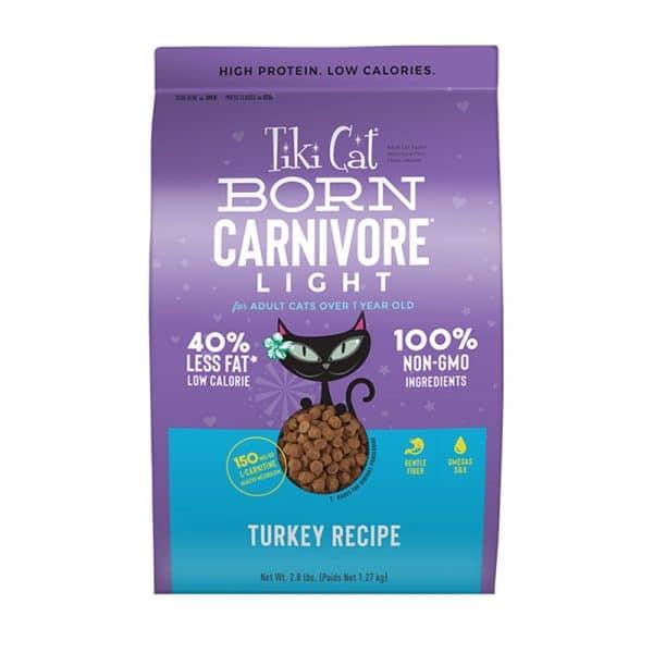 乾糧 Tiki Cat Born Carnivore Light (Turkey Recipe) 低脂貓糧(火雞)2.8lb 寵物用品店推薦