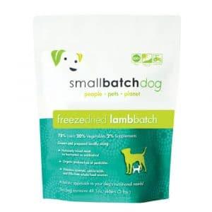 凍乾糧 愛寵小廚 SmallBatch Lamb Freeze Dried Sliders 低溫凍乾主食餐 (羊肉) 14oz 寵物用品店推薦