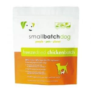 凍乾糧 愛寵小廚 SmallBatch Chicken Freeze Dried Sliders 凍低溫凍乾主食餐 (雞肉) 14oz 寵物用品店推薦