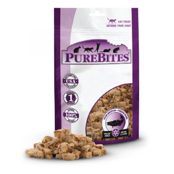 小食 PureBites 凍乾海洋白身魚 貓小食 寵物用品店推薦