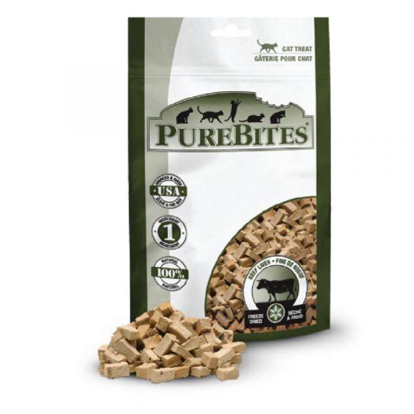 小食 PureBites 凍乾牛肝 貓小食 寵物用品店推薦