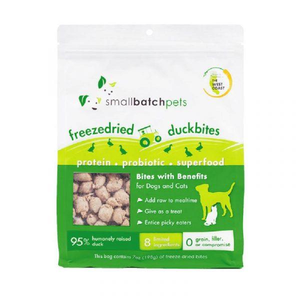 小食 愛寵小廚 SmallBatch Freeze Dried Duck Smallbites 凍乾肉粒(鴨肉) 7oz 寵物用品店推薦