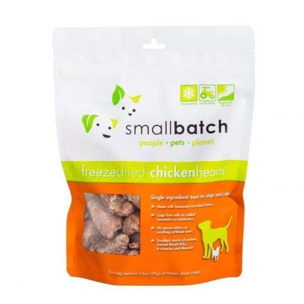 小食 愛寵小廚 SmallBatch Freeze Dried (Chicken Hearts) 凍乾(雞心) 3.5oz 寵物用品店推薦