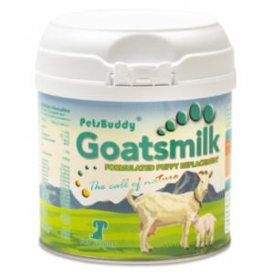 奶粉 Petsbuddy Goatsmilk 初生幼犬羊奶粉 210g 寵物用品店推薦