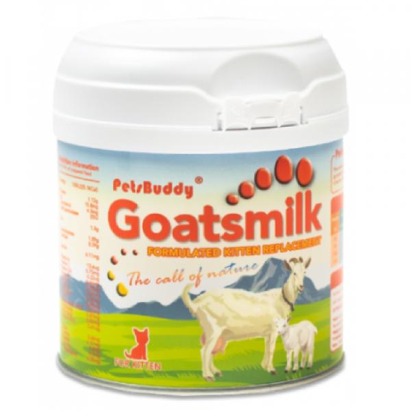 奶粉 Petsbuddy Goatsmilk 初生幼貓羊奶粉 210g 寵物用品店推薦