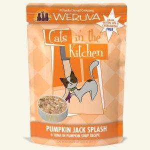 即食湯包 WeRuVa 廚房系列 吞拿魚、南瓜湯 袋裝貓糧 85g 寵物用品店推薦