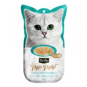 小食 Kit Cat Purr Puree 雞肉+去毛球 養生肉醬 60g 寵物用品店推薦