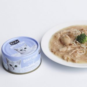 罐頭食品 Kit Cat 吞拿魚+銀魚 羊奶貓罐頭 70g 寵物用品店推薦