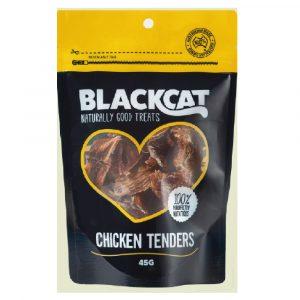 小食 BLACK CAT 天然澳洲雞塊 45g 寵物用品店推薦