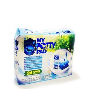 尿墊 My Potty Pad 殿堂級寵物尿墊 60cm x 90cm (24片) 寵物用品店推薦