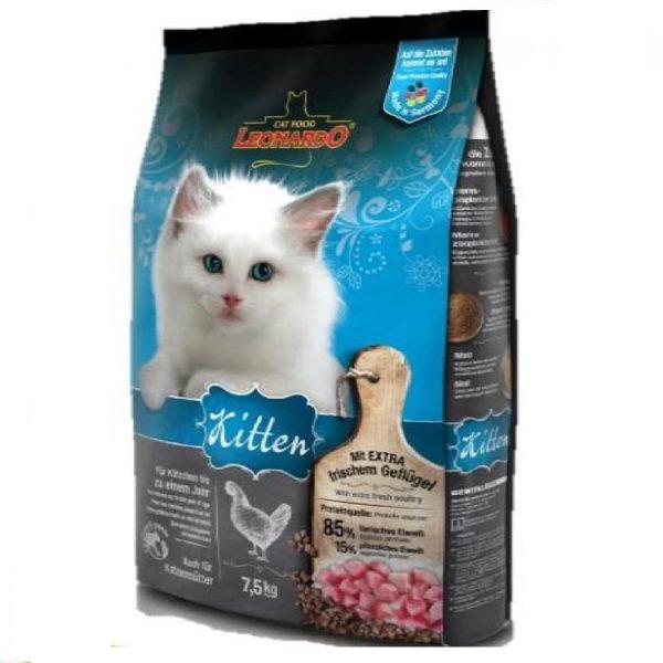 乾糧 Leonardo Natural Kitten Food (Poultry) 天然幼貓糧(家禽配方-雞肉+火雞+鴨肉) 寵物用品店推薦