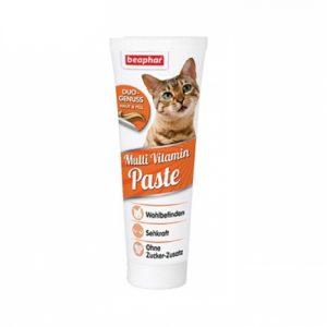 腸胃護理 Beaphar 愛貓雙色多種維他命營養膏 DUO-ACTIVE MULTI-VITAMIN PASTE CAT 100G 寵物用品店推薦
