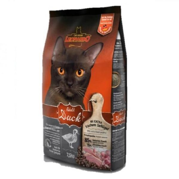 乾糧 Leonardo Natural Adult Cat Food (Duck) 天然成貓糧(鴨肉配方) 寵物用品店推薦