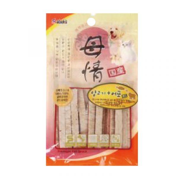 小食 Asuku Mojung 母情鴨肉條 140g 寵物用品店推薦