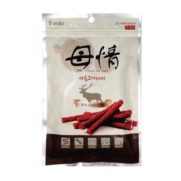 小食 Asuku Mojung 母情鹿肉條 寵物用品店推薦