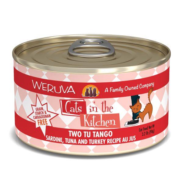 罐頭食品 WeRuVa 廚房系列 沙甸魚、吞拿魚 貓罐頭 寵物用品店推薦