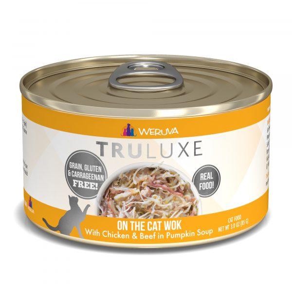 罐頭食品 WeRuVa 尊貴系列 無骨去皮雞胸肉、澳洲牛肉、南瓜 貓罐頭 寵物用品店推薦