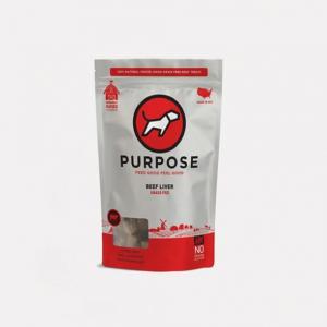 小食 Purpose 凍乾脫水 貓狗小食 (牛肝) 3oz 寵物用品店推薦