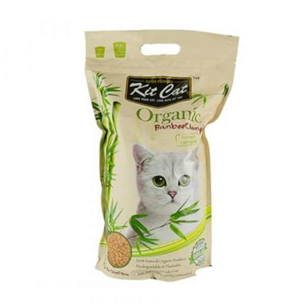 貓用產品 Kit Cat 短毛貓配方 有機竹子貓砂 寵物用品店推薦
