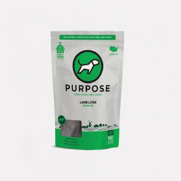 小食 Purpose 凍乾脫水 貓狗小食 (小羊肝) 3oz 寵物用品店推薦