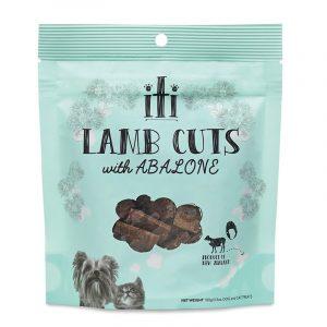 小食 ITI 紐西蘭脫水風乾肉粒(羊/鮑魚) (增強免疫力) 小食 100G 寵物用品店推薦