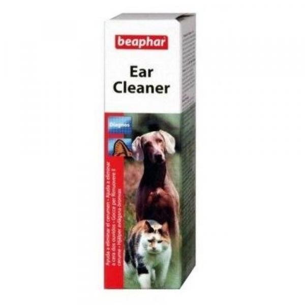 清潔用品 Beaphar 貓狗專用潔耳露 50ML 寵物用品店推薦