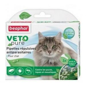皮膚護理 Beaphar VETO pure 回歸自然滴劑 (貓用) 寵物用品店推薦