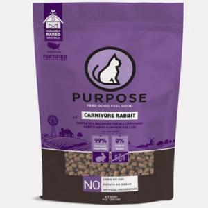 凍乾糧 Purpose 凍乾脫水生肉 貓主糧 (兔肉) 9oz 寵物用品店推薦