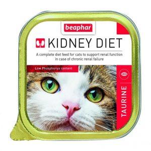 罐頭食品 Beaphar 腎臟保健配方貓罐頭 – 牛磺酸 100g 寵物用品店推薦