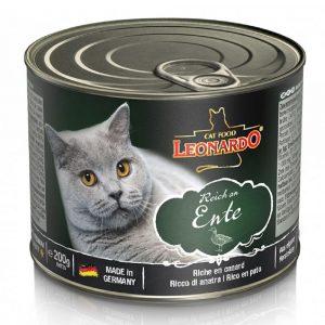 罐頭食品 Leonardo Natural Cat Canned (Duck) 天然貓罐頭(鴨肉) 寵物用品店推薦