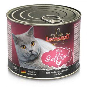 罐頭食品 Leonardo Natural Cat Canned (Poultry) 天然貓罐頭(家禽) 寵物用品店推薦