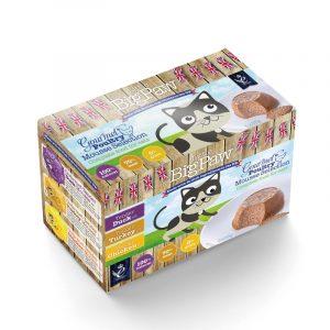 罐頭食品 Little Big Paw 慕絲貓罐頭 – 農場之選(雞/鴨/火雞) 85g x 6罐 寵物用品店推薦