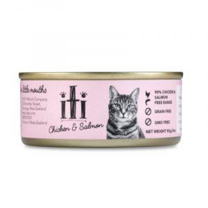 罐頭食品 ITI 紐西蘭天然無穀物(雞+三文魚) 貓罐頭 175G 寵物用品店推薦