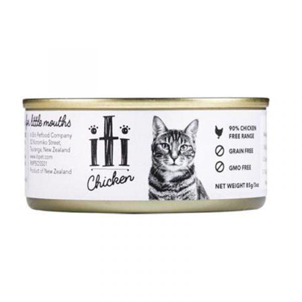 罐頭食品 ITI 紐西蘭天然無穀物(雞肉) 貓罐頭 85G 寵物用品店推薦