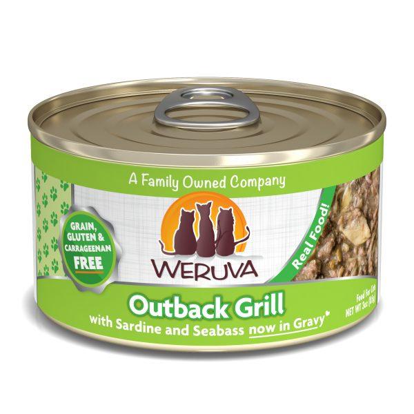 罐頭食品 WeRuVa 經典海鮮系列 野生澳洲黲魚及金目鱸魚 貓罐頭 寵物用品店推薦