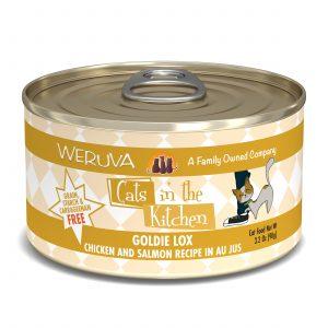 罐頭食品 WeRuVa 廚房系列 走地雞、三文魚、美味肉汁 貓罐頭 寵物用品店推薦