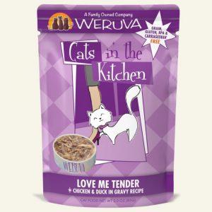 即食湯包 WeRuVa 廚房系列 走地雞、吞拿魚、鴨肉、美味肉汁 袋裝貓糧 85g 寵物用品店推薦