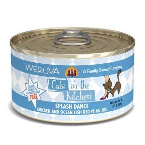 罐頭食品 WeRuVa 廚房系列 走地雞、海洋魚、美味肉汁 貓罐頭 寵物用品店推薦