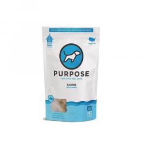 小食 Purpose 凍乾脫水 貓狗小食 (野生三文魚丁) 3oz 寵物用品店推薦